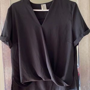 Black dress blouse